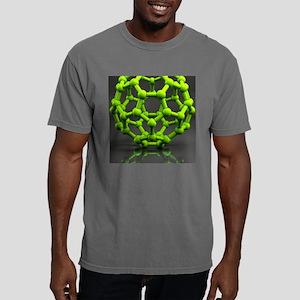 Buckyball molecule C60,  Mens Comfort Colors Shirt