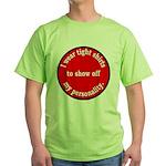 Personality Green T-Shirt