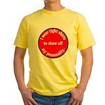 Personality Yellow T-Shirt