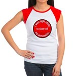 Personality Women's Cap Sleeve T-Shirt