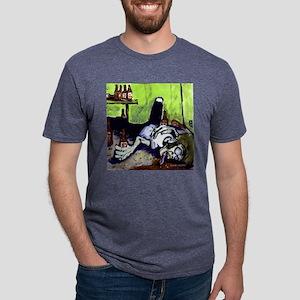Angry-22 Mens Tri-blend T-Shirt