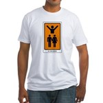 The Tarot Lovers Fitted T-Shirt