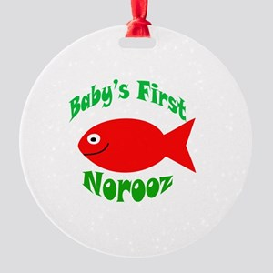 NoroozBaby Round Ornament