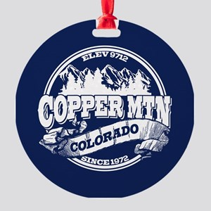 Copper Mountain Old Circle Round Ornament