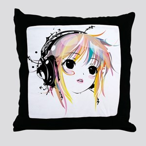 yuki remix Throw Pillow