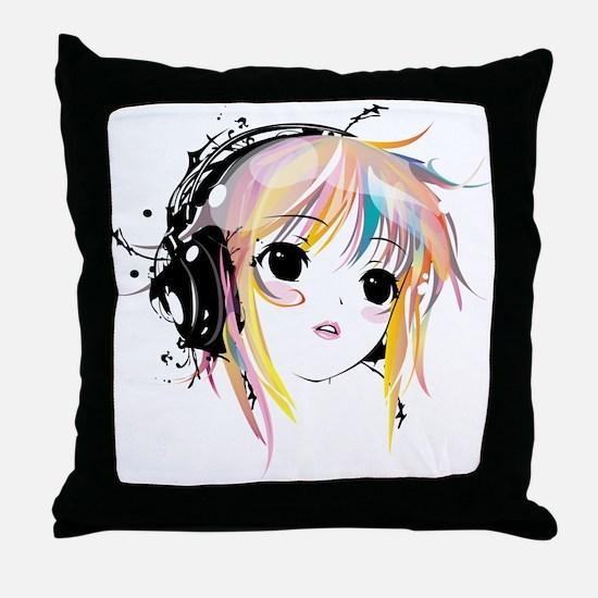 yuki remix Throw Pillow
