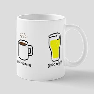 good morning and good night Mug
