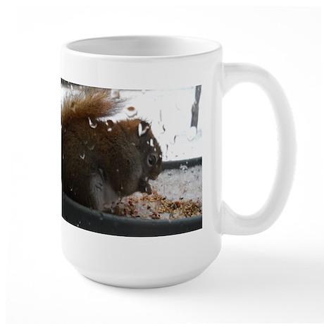 It's Raining I Want Fast Food Large Mug