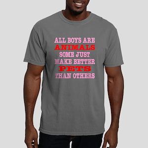 Blk_Boys_Animals_Better_ Mens Comfort Colors Shirt