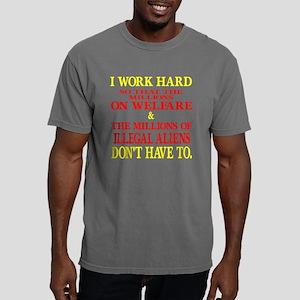 Blk_I_Work_Hard_Millions Mens Comfort Colors Shirt