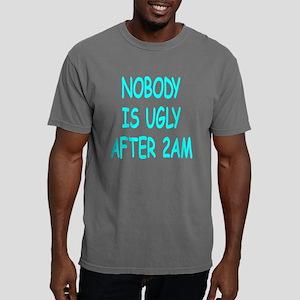 Blk_Nobody_Ugly_2am Mens Comfort Colors Shirt