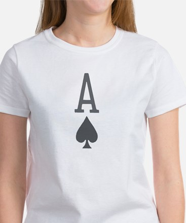 Ace of Spades Poker Clothing Women's T-Shirt