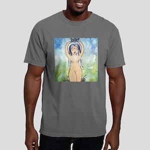 3d Pentacle image Mens Comfort Colors Shirt