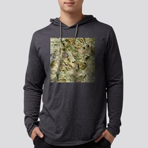 A mixed assemblage of fossils Mens Hooded Shirt