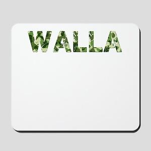 Walla, Vintage Camo, Mousepad
