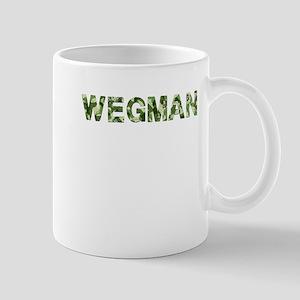 Wegman, Vintage Camo, Mug