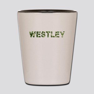 Westley, Vintage Camo, Shot Glass