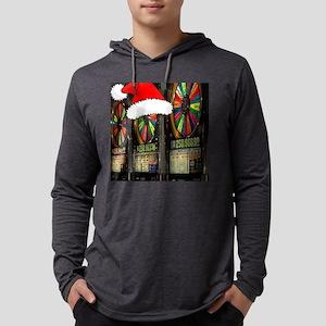 Las Vegas Christmas Mens Hooded Shirt