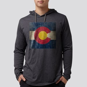 Vintage Mens Hooded Shirt