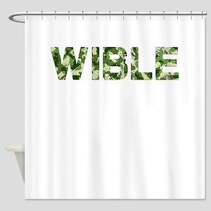 Wible, Vintage Camo, Shower Curtain