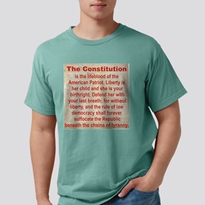 THE CONSTITUTION Mens Comfort Colors Shirt