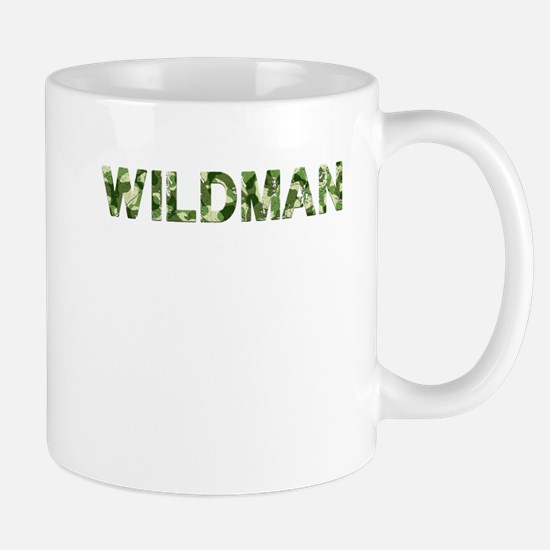 Wildman, Vintage Camo, Mug