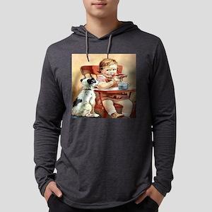 babylunch5X5 Mens Hooded Shirt