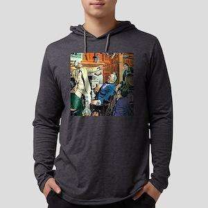 twain5X5 Mens Hooded Shirt