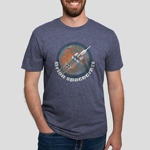 Orion Spacecraft 3 Mens Tri-blend T-Shirt