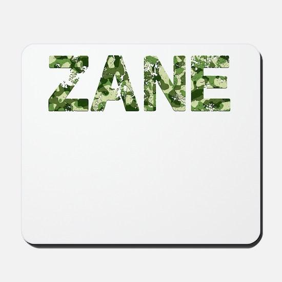 Zane, Vintage Camo, Mousepad