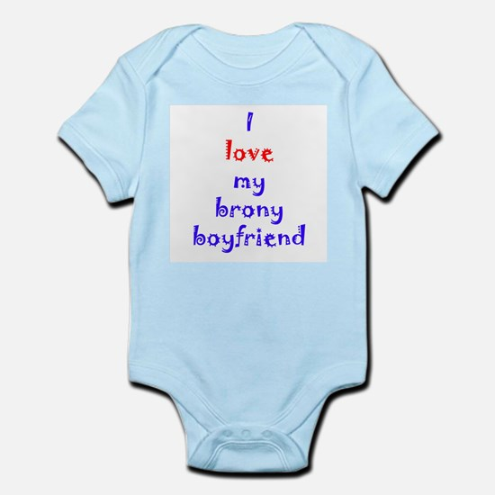 Brony Boyfriend Infant Bodysuit