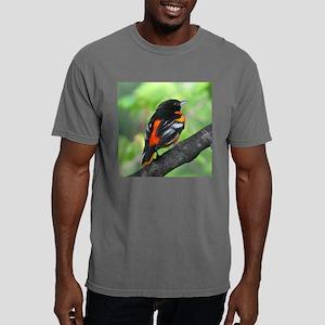 Backside Oriole Mens Comfort Colors Shirt