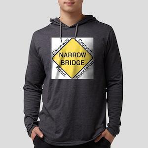 NarrowBridge Mens Hooded Shirt