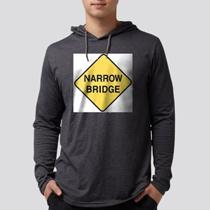 NarrowBridgeNeg Mens Hooded Shirt