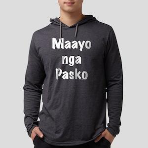 Maayo nga Pasko-tp Mens Hooded Shirt