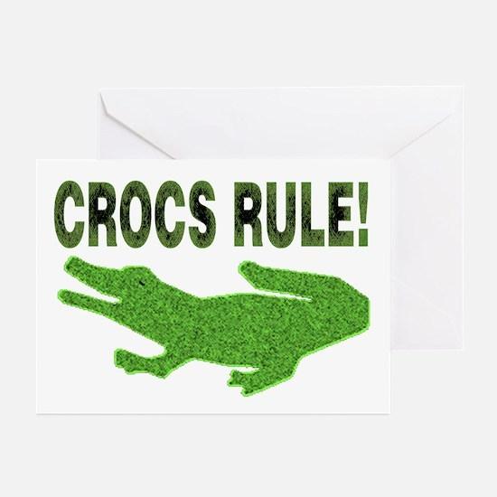 Crocs Rule Greeting Cards (Pk of 10)