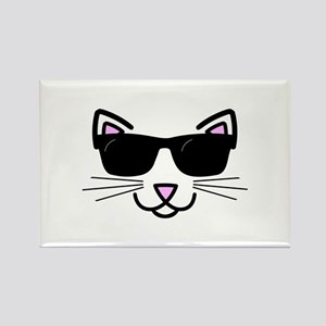 Cool Cat Wearing Sunglasses Magnets