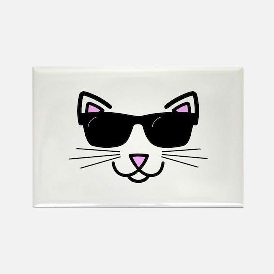 Cool Cat Wearing Sunglasses Magnets