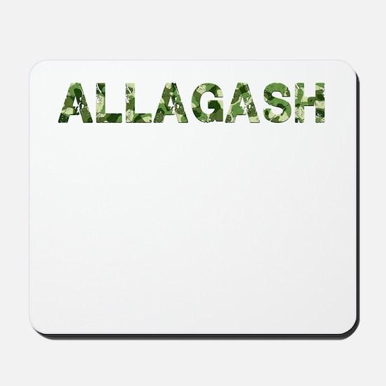 Allagash, Vintage Camo, Mousepad