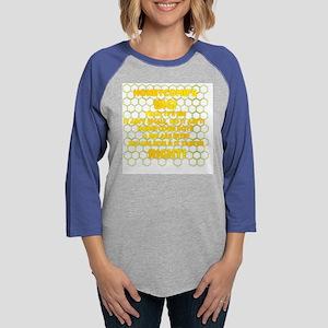 Honeycombs BIG.png Womens Baseball Tee