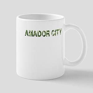 Amador City, Vintage Camo, Mug