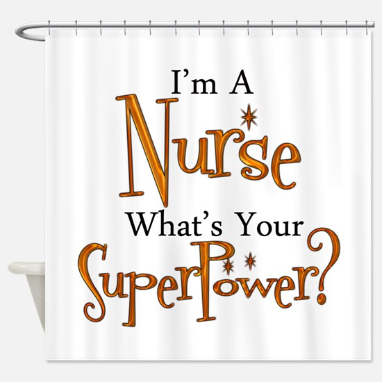 Super Nurse Shower Curtain