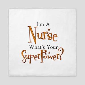 Super Nurse Queen Duvet