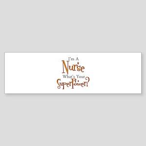 Super Nurse Sticker (Bumper)