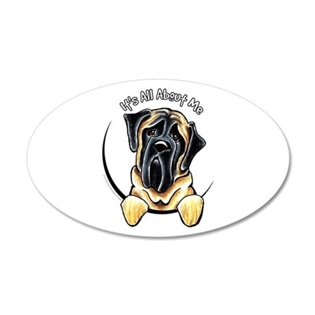 Mastiff IAAM 20x12 Oval Wall Decal