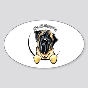 Mastiff IAAM Sticker (Oval)