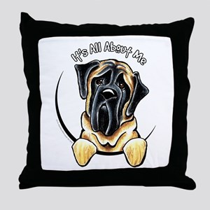 Mastiff IAAM Throw Pillow
