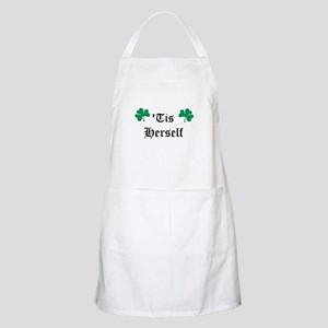 tis herself Apron