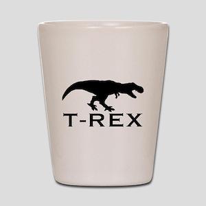 T Rex Shot Glass