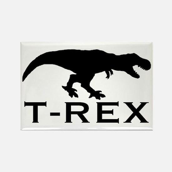 T Rex Rectangle Magnet (100 pack)